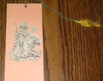 SALE Vintage Tally Card (Little Bo Peep)