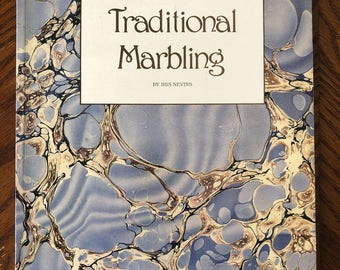 Traditional Marbling by Iris Nevins (1988, Paperback)