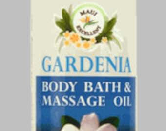 Organic Gardenia Body Bath & Massage Oil