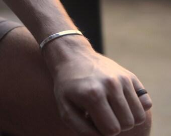 MENS CUFF Sterling SILVER Man Bracelet