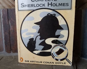 1986 The Penguin Complete Sherlock Holmes  Sir Arthur Conan Doyle Dectective Novel Dr Watson Paperback Novel