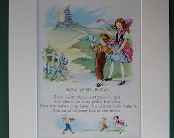 Blow wind blow poem