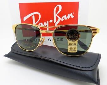 RayBan B&L W0386 Signet Arista Classic Metals G-15 52mm Vintage New Old Stock