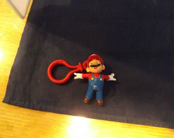 Mario Brothers Zipper Pull Key Ring