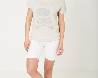 Studded Skull women's Top sizes S/M and M/L
