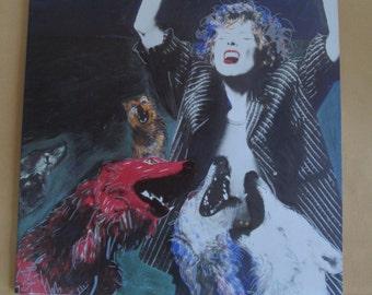"Joni Mitchell ""Dog Eat Dog"" Vinyl Record LP"