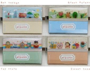 Cute Design Lot of 5 Bookmark Paper Clip Set