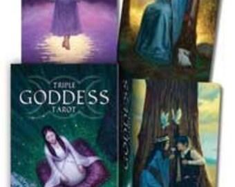 Triple Goddess tarot by Elford & Rivolli