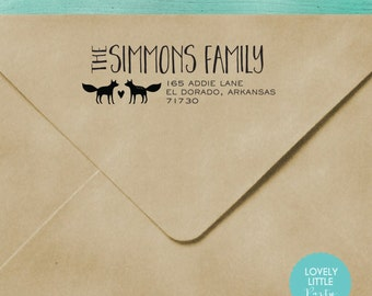 Address/Clothing Stamps
