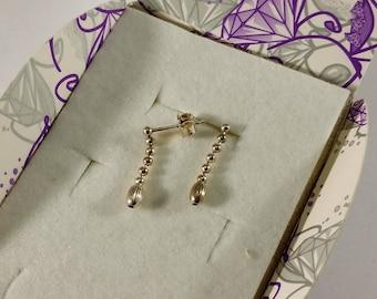 Earrings Studs Silver 925 vintage rar SO336
