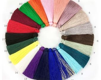 2pc 70mm Beautiful Silk Tassel