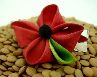 Poppy Kanzashi Single