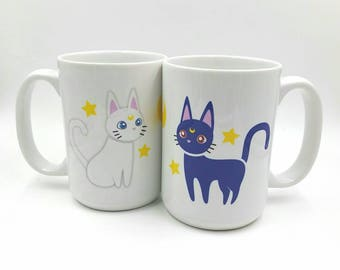 Luna and Artemis Mug