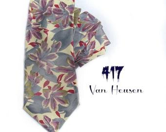 Flower necktie - awesome tie - designer tie -  office attire - men's accessories -floral tie - flower tie - wide flora tie - # T 39