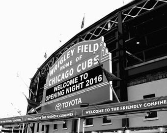 Cubs Opening Day 2016 - Original Signed Fine Art Photograph