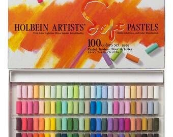 Holbein Soft pastel 100 color set