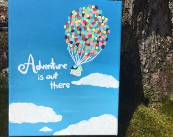 Adventure is Out There! Disney Up Painting