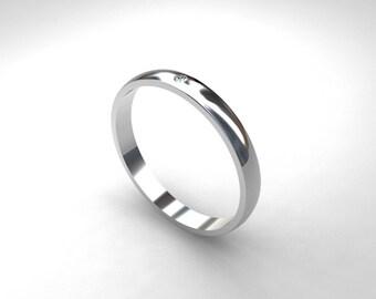 Diamond wedding band, platinum ring, simple diamond ring, platinum wedding band, contemporary ring, modern, unique diamond ring, anniversary