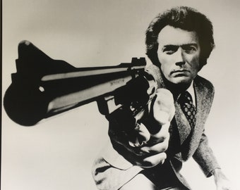 Wall Art, Movie Poster, Clint Eastwood Dirty Harry poster 23 1/2 x 33