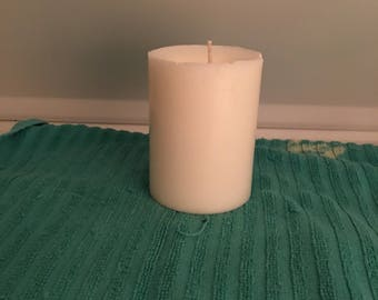 Handmade Scented Pillar Candle