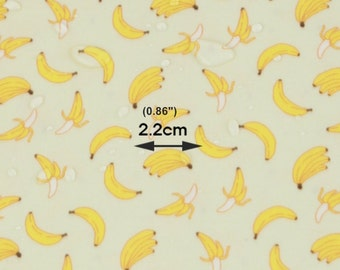 Laminated Cotton Fabric Banana By The Yard