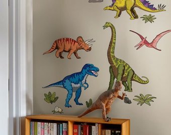 Dinosaurs Wall Stickers - Peel and Stick Wall Sticker