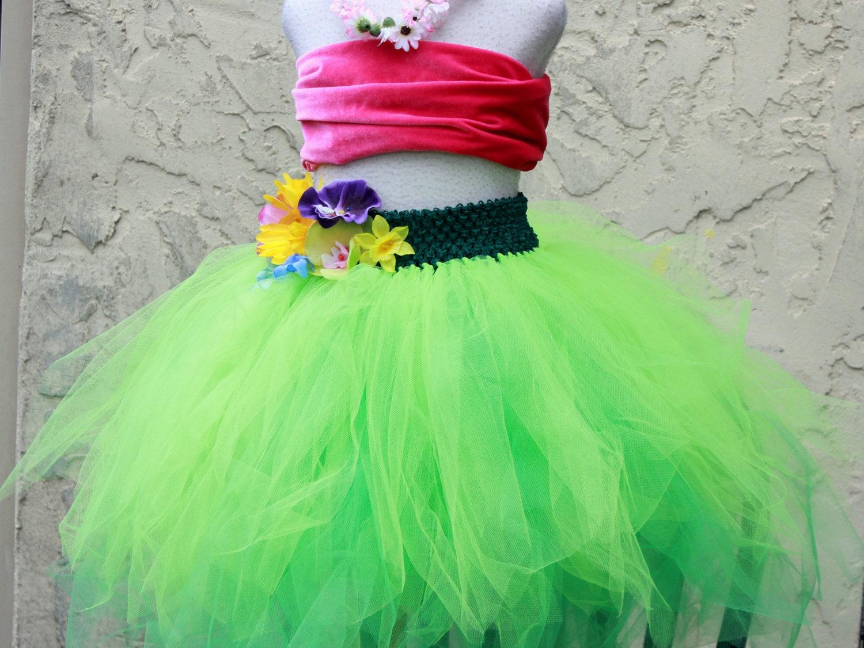 Lilo And Stitch Dress Costume Hula Girl