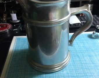 Wilton Pewter water pitcher