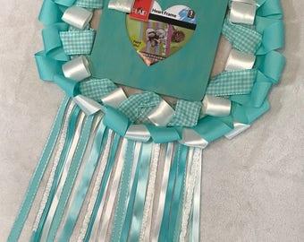 Baby Announcement wreath door/wall hanger