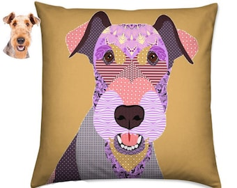 Custom Vintage Pet Portrait Pillow, Vintage Print Dog Portrait, Cat Portrait, Custom Dog Cushion, Dog Pillow, Pet Cushion, Pet Owner Gift