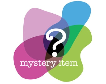 1 Mystery Item - One Item Grab Bag - You Choose Finish - Perfect Gift - Mystery Bag of Hand Painted or Vintage Glass Stone