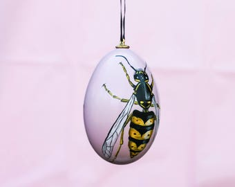Wasp Goose Egg ornament