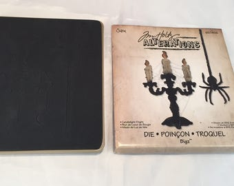 Tim Holtz Alterations * Candlelight Fright  Die * BIGZ * Gently Used * Sizzix 657456