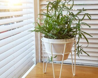Hairpin Leg Plant Stand, Hairpin Leg, Plant Stand, Metal Plant Stand, Pot Stand, Hoop Plant Stand