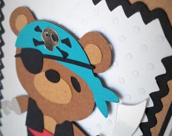 Pirate Birthday Card