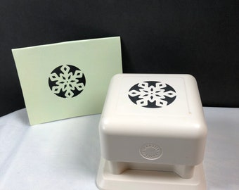 Martha Stewart Scrapbooking Paper Punch SKYLANDS SNOWFLAKE Magnetic All-Over the Page
