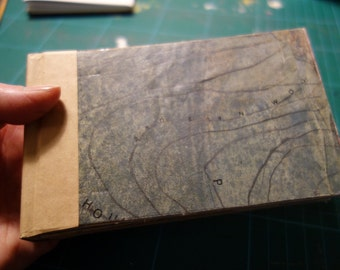The North Yorkshire Map Book - Artist Book - 14 Original Paintings - ElizabethAFox - Artists Book