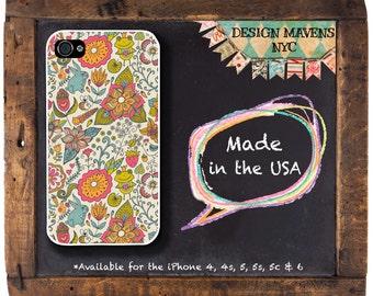 Fairy Tale Floral iPhone Case, Winter Floral iPhone Case, Gift for Her, iPhone 5, 5s, 5c, 4, 4s, iPhone 6, 6s, 6 Plus, SE, iPhone 7, 7 Plus