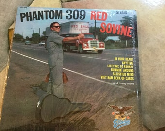 Red Sovine Phantom 309 on Starday Records