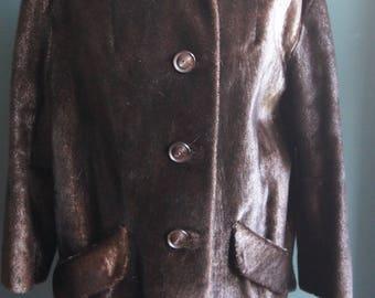 Real fur winter jacket Genuine Fur