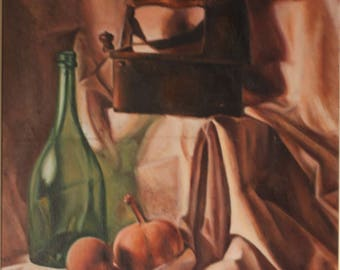 Original Oil painting. Still Life Painting