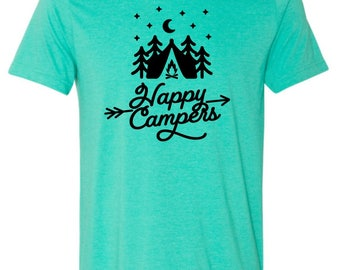 Happy Campers Camping T-shirt