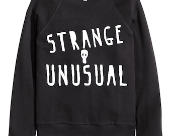 Strange and Unusual Lydia Deetz Beetlejuice Women's Crewneck Sweater