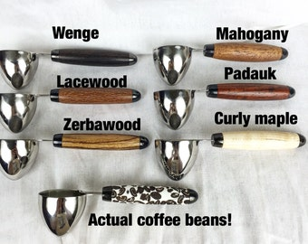 Stainless steel coffee scoops, 2tbl