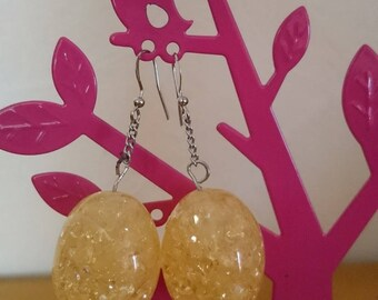 Original gift earrings my honey drops