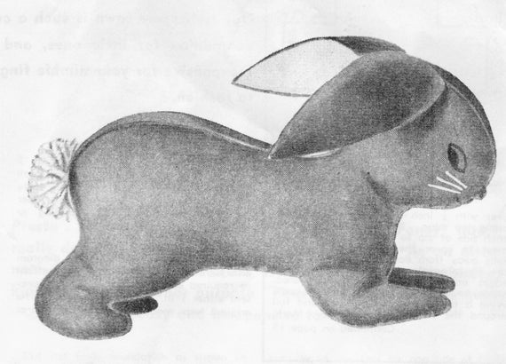 Sewing Patterns, Bunny Pattern, Bunny, Rabbit, Bunny Rabbit, Easter ...