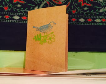 Personalized Stamped Greeting Card