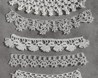 1940 Lace Edgings Vintage Crochet Pattern