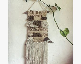 Tassel and twine- Woven Wall Hanging