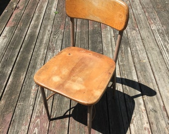 Vintage Heywood Wakefield School Chair